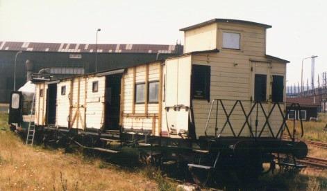 De HSM-D te Beverwijk op 19 augustus 1984 (foto: Hans Altena)